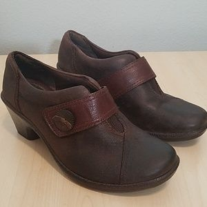 Montana artisan-crafted leather Brown booties 7.5
